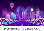 vector concept background with... | Shutterstock .eps vector #1215067273