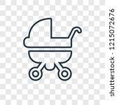 baby carriage concept vector...   Shutterstock .eps vector #1215072676