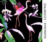 seamless pattern  background.... | Shutterstock .eps vector #1215087943