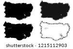 set of brush stroke and...   Shutterstock . vector #1215112903