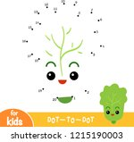 numbers game  education dot to... | Shutterstock .eps vector #1215190003
