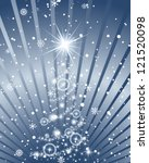 beautiful christmas  new year ... | Shutterstock .eps vector #121520098