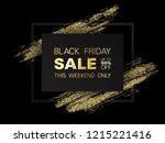 black friday sale sign  up to... | Shutterstock .eps vector #1215221416