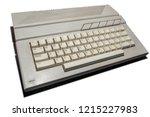 Gray Vintage Computer Keyboard