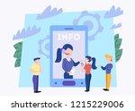 technical support concept. idea ...   Shutterstock .eps vector #1215229006
