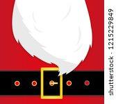 santa's message banner. santa... | Shutterstock .eps vector #1215229849