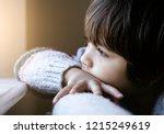 Portrait Of Upset Little Boy...