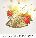 fantasy christmas fir tree of...   Shutterstock .eps vector #1215263920
