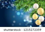 abstract holiday new year and... | Shutterstock .eps vector #1215272359