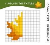 educational game for children.... | Shutterstock .eps vector #1215279970