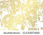 elegant golden pattern with... | Shutterstock .eps vector #1215307600