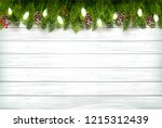 holiday christmas background... | Shutterstock .eps vector #1215312439