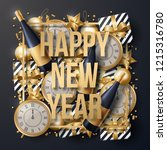 happy new year background... | Shutterstock .eps vector #1215316780