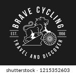 bicycles brave cycling white on ...   Shutterstock .eps vector #1215352603