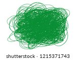 colored chaos pattern on white. ... | Shutterstock .eps vector #1215371743
