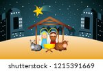 merry christmas related | Shutterstock .eps vector #1215391669