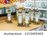 traditional candle snitches for ... | Shutterstock . vector #1215405403