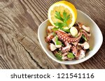 Octopus Salad With Olive Oil ...