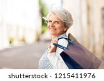 sale  consumerism and people... | Shutterstock . vector #1215411976