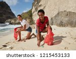 campaign for cleaning our... | Shutterstock . vector #1215453133