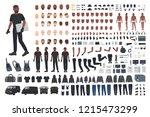 thief or burglar constructor... | Shutterstock .eps vector #1215473299