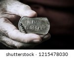 closeup the hand of an old... | Shutterstock . vector #1215478030