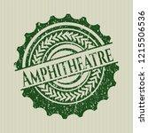 green amphitheatre distress... | Shutterstock .eps vector #1215506536