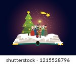 imagination concept   group of... | Shutterstock .eps vector #1215528796