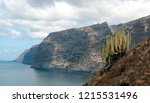 cliff of the giants on the... | Shutterstock . vector #1215531496