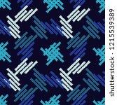 ethnic boho seamless pattern.... | Shutterstock .eps vector #1215539389