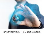 the concept of business ... | Shutterstock . vector #1215588286