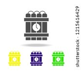hour bomb multicolored icon.... | Shutterstock .eps vector #1215616429