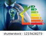 businessman in energy... | Shutterstock . vector #1215628273