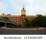 The Calcutta High Court is the oldest High Court in India. It was built in 1862 during British Colonial in India . It is located at Kolkata , India