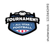 american football championship... | Shutterstock .eps vector #1215642493
