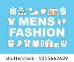 men's clothes word concepts...