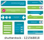 website download buttons | Shutterstock . vector #121568818