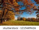beautiful autumn colors in the...   Shutterstock . vector #1215689626