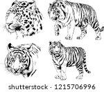 vector drawings sketches... | Shutterstock .eps vector #1215706996