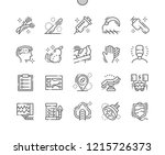 surgery well crafted pixel... | Shutterstock .eps vector #1215726373