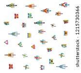 vector background. people  men... | Shutterstock .eps vector #1215730366