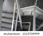 descent down the stairs  in the ... | Shutterstock . vector #1215739999