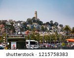 san francisco  california usa 9 ... | Shutterstock . vector #1215758383