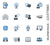 communication icons set 1  ... | Shutterstock .eps vector #121575883