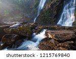 pure nature water. beautiful... | Shutterstock . vector #1215769840