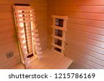 infrared cabin interior | Shutterstock . vector #1215786169