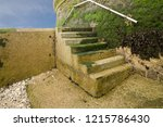 Old Concrete Steps Leading From ...