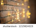 christmas decorations in the... | Shutterstock . vector #1215824323