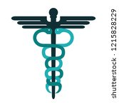 caduceus medical symbol | Shutterstock .eps vector #1215828229