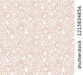 sport related seamless pattern | Shutterstock .eps vector #1215834856